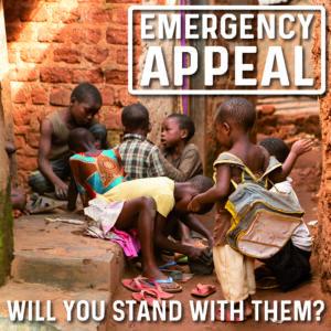 emergency appeal slum children